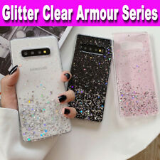 Samsung S10,S9,S8,A10,A20e,A70,A40,A50 GLITTER BLING Shockproof TPU Case Cover
