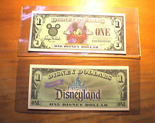 "2001 DISNEY DOLLAR - Mint Condition - MICKEY - SERIES ""A"" - Sorcerer Mickey"
