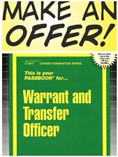 New Warrant and Transfer Officer Test Practice Passbook (Upcoming Exam) FREESHIP