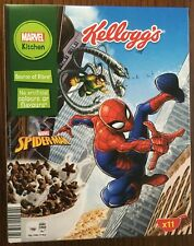 2019 KELLOGG'S EUROPEAN EMPTY CEREAL BOX SPIDERMAN MARVEL