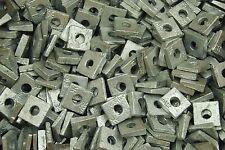 (100) Galvanized Malleable 5/16 Square Bevel Washers I-Beam Flange Wedge