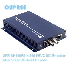 H.265 264 SDI Video Encoder - HTTP RTSP RTMP UDP ONVIF Protocols for Live Stream