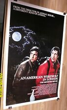 AN AMERICAN WERWOLF IN LONDON 1 SH MOVIE POSTER JOHN LANDIS RICK BAKER HORROR