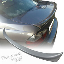 --Painted For BMW 3-Series E90 OE-Type 4DR Rear Trunk Lip Spoiler #354 Silver