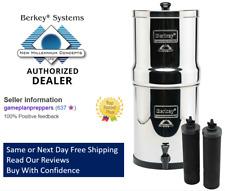 Royal Berkey Water Filter Purifier with 2 Black Berkey Elements