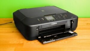 Canon Pixma MG5620 White All-In-One Inkjet Printer complete & working!