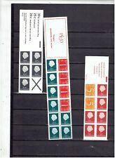 NEDERLAND Postzegelboekjes uit 1966  en 1969 POSTFRIS MNH