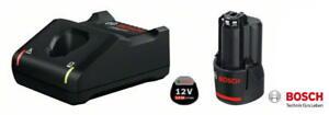Bosch Akku-Starter-Set GBA 12 Volt  1x 2,0 Ah + Schnellladegerät GAL 12V-40