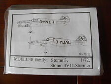 MOELLER FAMILY: Stomo3/Stomo 3V11 Sturmer kit en résine DUJIN