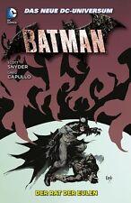 Batman-Brochée HC allemand 1,2,3,4,5,6,7,8+9 complet de type Variant Housse dure Scott Snyder