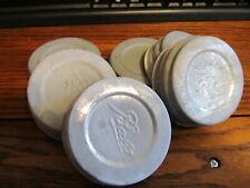 Vintage Regular Mouth Zinc Canning Lids (used)
