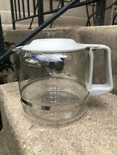 KRUPS 12 CUP GLASS CARAFE Replacement With Grey Top And Handle