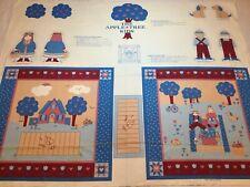 6141004-M Camelot Telas fairyville Apple casas Quilting fabric