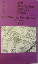 Old Ordnance Survey Maps Dorchester Puddletown & District 1903 Sheet 328 New