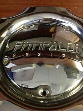 Fittipaldi Design Chrome Tubolare Chrome Wheel Rim Center Cap 899961