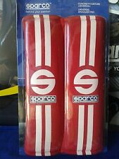 SPARCO CUSCINETTI COPRI CINTURE ROSSI TUNING PADDING BELTS STREET SPARCO RED
