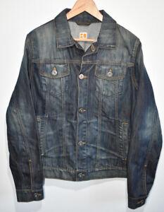 Mens Hugo Boss Orange Orange1 Ocean Wash Denim Jacket Blue Size Medium/Large VGC