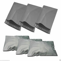 Grey Mailing Bags Strong Poly Postal Postage Post Mail Self Seal Courier Bags