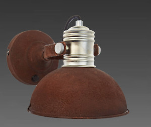 Brilliant Lampe Wandlampe Wandleuchte  Leuchte Beton rost 90111/60