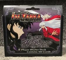 InuYasha Feudal Warfare 2 Player Starter Deck Trading Card Game 120 Cards New