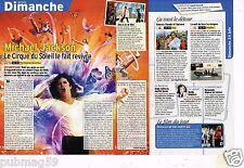 Coupure de Presse Clipping 2012 (1 page 1/3) Michael jackson