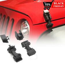 Hood Latch Hood Lock Catch Hood Latches Catch Kit For Jeep Wrangler Tj 1997 2006 Fits 1997 Jeep Wrangler