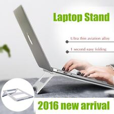 Portable foldable Laptop/MacBook/tablet/iPAD PRO aluminum stand/mount-silver