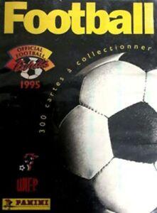 Panini U.N.F.P. Football Cards 1994 95  Cards a scelta originali FRANCE zidane