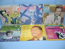 6x LPs: FOREST & HAYMES, ASTAIRE, POWELL, STARR, GRAY, WHITE-MERENGUE, SEALED