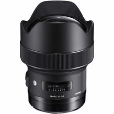 Sigma 14 mm f1.8 HSM Art Lente DG PER NIKON AF #450 (UK stock) nuovo con scatola