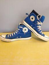 Converse All Star Hi Tops Chuck Taylor Blu Vintage Grunge 7 40