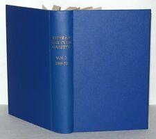 Veteran Car Club Gazette Volume 2 1949-52, 11 Booklets in Hardback Binding,
