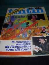 tintin nouveau 81 Journal / Französischer Comic - Zeitschrift  in . Zust. 1
