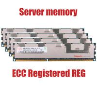 For Hynix 32GB 4X8GB PC3-10600R DDR3-1333MHz ECC Registered REG Memory RHNUS