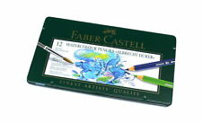 Faber Castell Pencils Watercolour Pencils Water Soluble Tin Box 12 117512 PB380