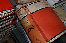CASE W24B Front End Wheel Loader Repair Service Parts Manual book overhaul shop