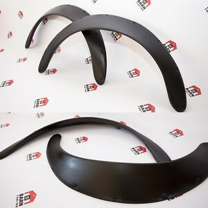 "JDM Fender Flares UNIVERSAL Wheel arch SET 3.5"" wide 2 pieces"