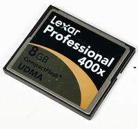 Lexar Professional 8GB 400x Compact Flash Card UDMA