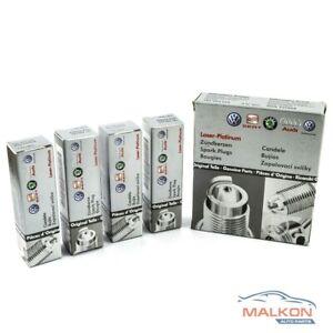 4 X SPARK PLUGS FOR AUDI SKODA VOLKSWAGEN 101905626