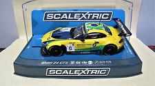 """Scalextric  BMW Z4  GT3  N° 0   """" Spots Trophy Team Brasil  """"  Ref.  C3721"""