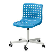 IKEA SKÅLBERG / SPORREN Sedia da ufficio, bianco blu