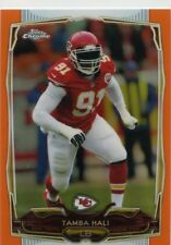 Tamba Hali 2014 Topps Chrome Orange Refractor Parallel #21 Kansas City Chiefs
