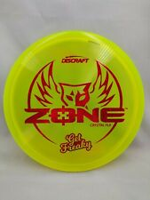 "Discraft Brodie Smith Signature ""Get Freaky"" Crystal Flx Zone Red Glitter Stamp"