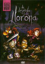 La Leyenda De La LLorona (2011) DVD NEW-ANIMADA
