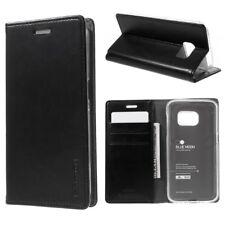 Samsung Galaxy S7 G930 Mercury GOOSPERY Wallet Case Blue Moon Book Etui Schwarz