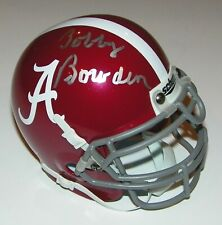 Bobby Bowden Signed Auto UA Alabama Crimson Tide Script A Mini Helmet - Proof