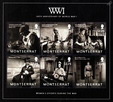 WWI Women's Efforts During The Great War Stamp Sheet (Nurse/Factory/Munitions)