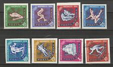 Rumänien Michel-Nr. 2203-2210, Olympische Winterspiele Innsbruck 1964, gest.