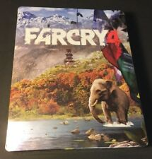 Far Cry 4 Collector's STEELBOOK Case [ G2 Size  / NO Game ] NEW