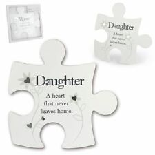 Daughter A Heart That Never Leaves Home Jigsaw Wall Art